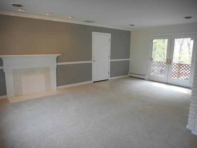 Living Room Dining Room Combo With Chair Rail